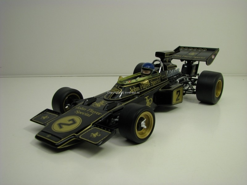 Lotus type 72E No.2 Ronnie Peterson Winner IGP 1973 1:18 Quartzo